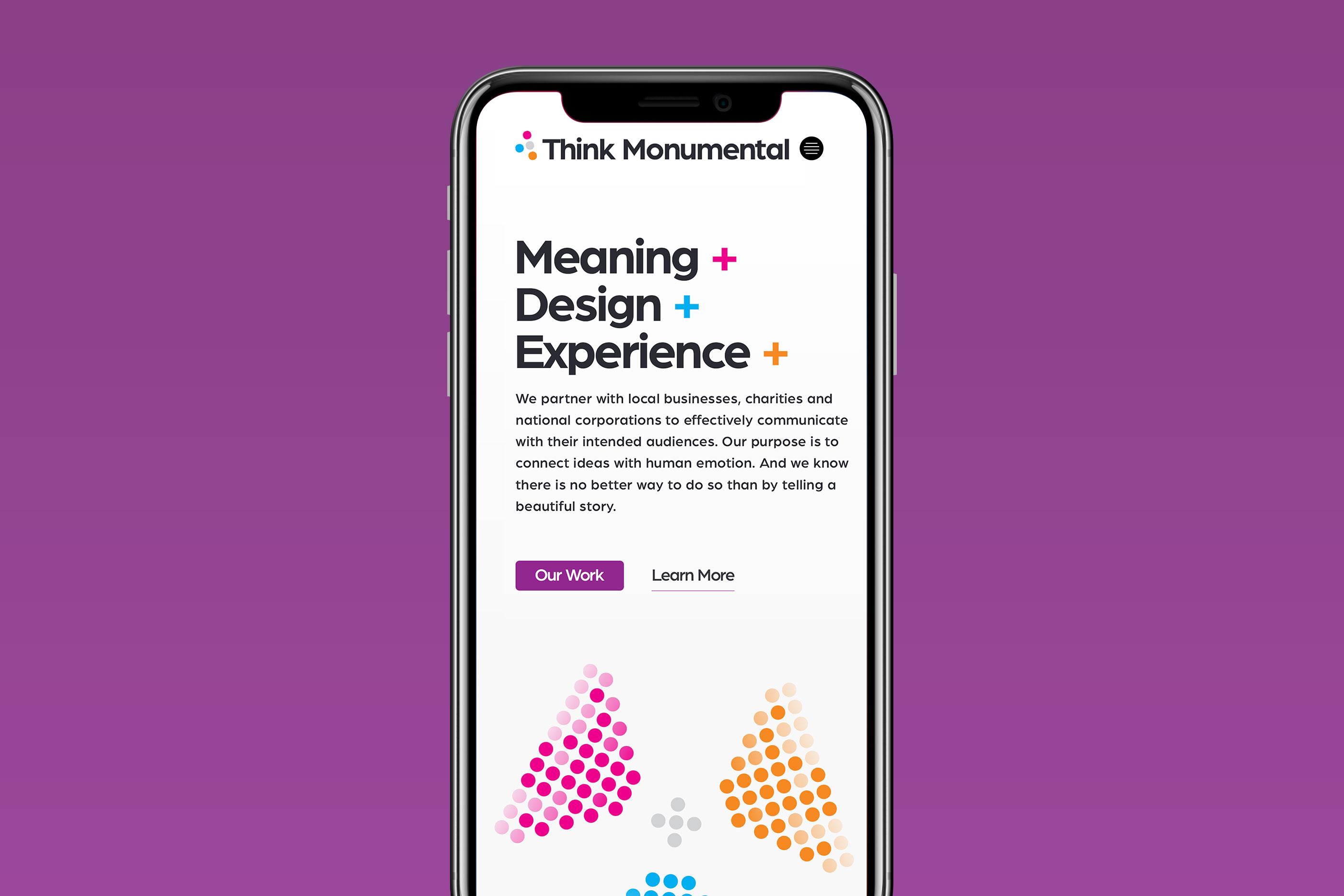 Visual Framework for Think Monumental